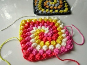 Spiral Bobble Crochet Stitch Tutorial 29