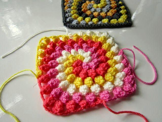 Amigurumi Bobble Stitch : Spiral Bobble Crochet Stitch Tutorial ? Crochet Kingdom