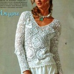 The Art of Lace Crochet Sweater