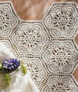 The hexagonal motif crochet