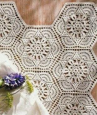 Вязание крючком: двухцветное платье Вяжем вместе 1