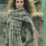 Xxl Chunky Crochet Scarf with Fringing Pattern
