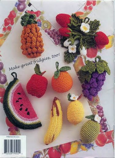 Unique Tablecloth And Napkin Crochet Patterns With Fruit