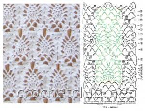 assttich pineapple crochet idea