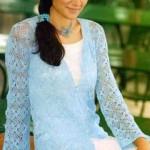 Long Sleeves Crochet Cardigan Pattern