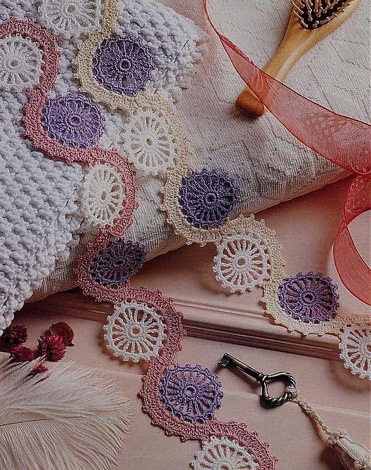 Crochet Circles , Crochet Motifs and Apliques , Crochet Table Runner ...