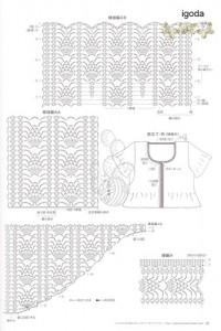 creating pineapple crochet stitch 1