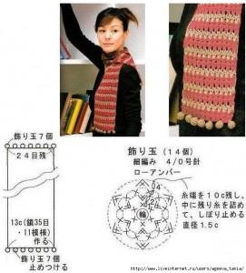 crochet bobble fringing