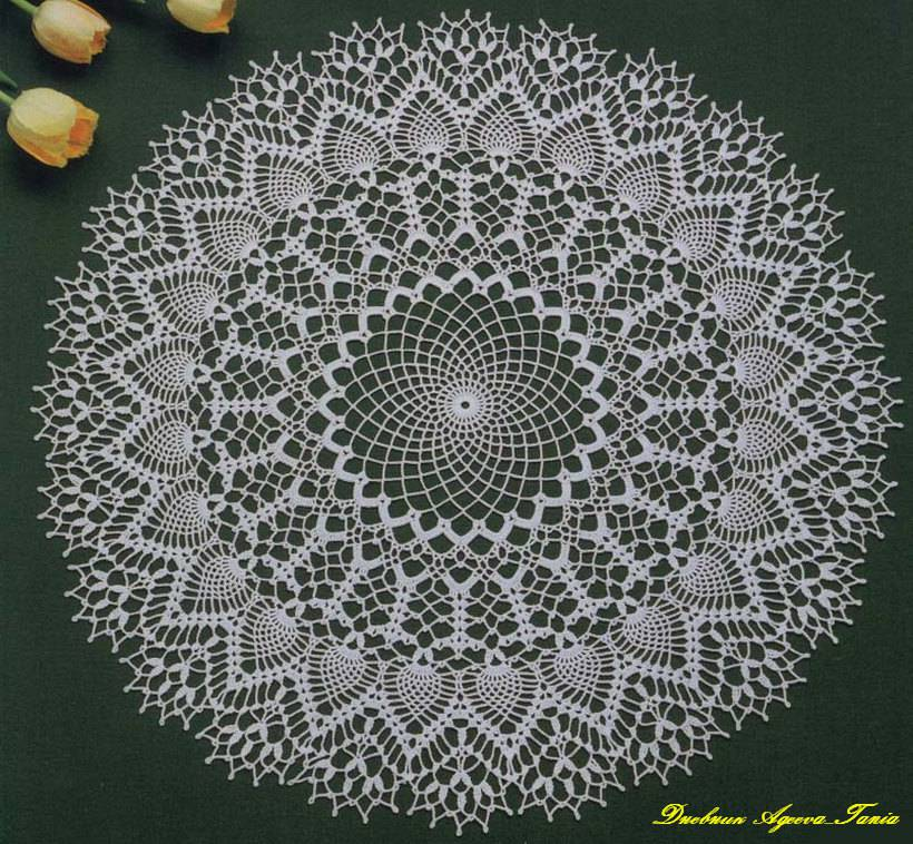 Three Beautiful Crochet Doily Pattern ⋆ Crochet Kingdom