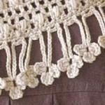 Flower Fringing Crochet Pattern