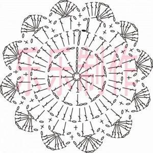 crochet mtif flower