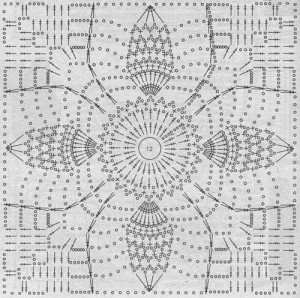 crochet pineapple motif 10