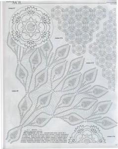 crochet pineapple motif 5