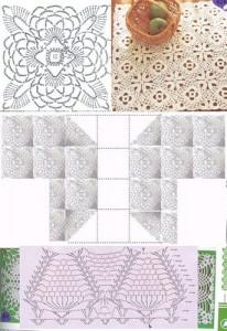 crochet pineapple motif 6