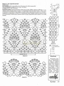 crochet pineapple motif 6g