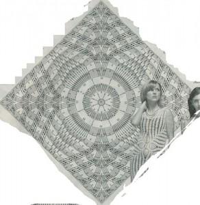 crochet pineapple motif 9