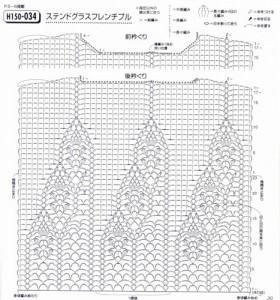 crochet pineapple motif d