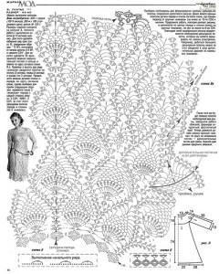 crochet pineapple motif er