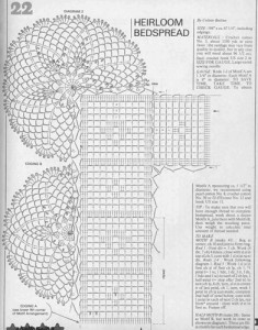 crochet pineapple motif s