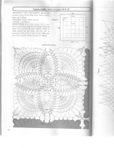 crochet pineapple motif star