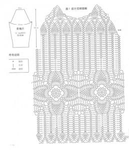 crochet pineapple motif t