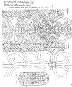 crochet pineapple motifj t