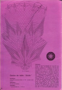 free diagrams for crochet pineapple stitches 1