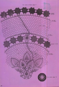 free diagrams for crochet pineapple stitches 16
