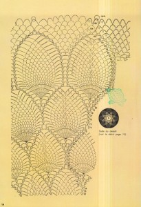 free diagrams for crochet pineapple stitches 2