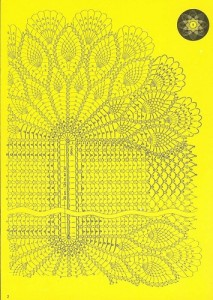 free diagrams for crochet pineapple stitches 5