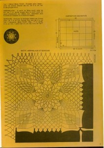 free diagrams for crochet pineapple stitches 8