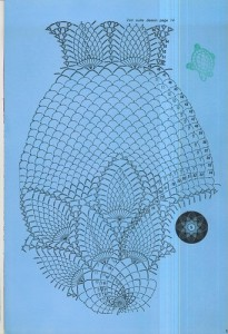 free diagrams for crochet pineapple stitches a