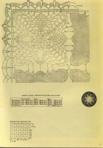 free diagrams for crochet pineapple stitches24