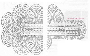 free diagrams for crochet pineapple stitches25