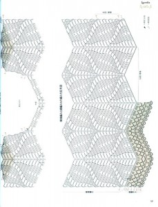 free diagrams for crochet pineapple stitches28