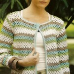 Granny Stitch Crochet Cardigan Pattern