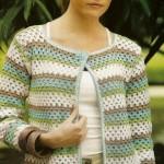 Granny Stitch Crochet Cardigan Pattern