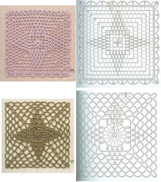 143 Free Diagrams For Crochet Pineapple Stitches ⋆ Crochet