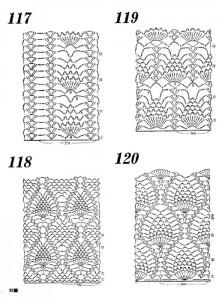 pineapple crochet stitches 1