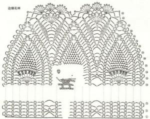 pineapple crochet stitches 4