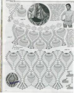 pineapple crochet stitches lace