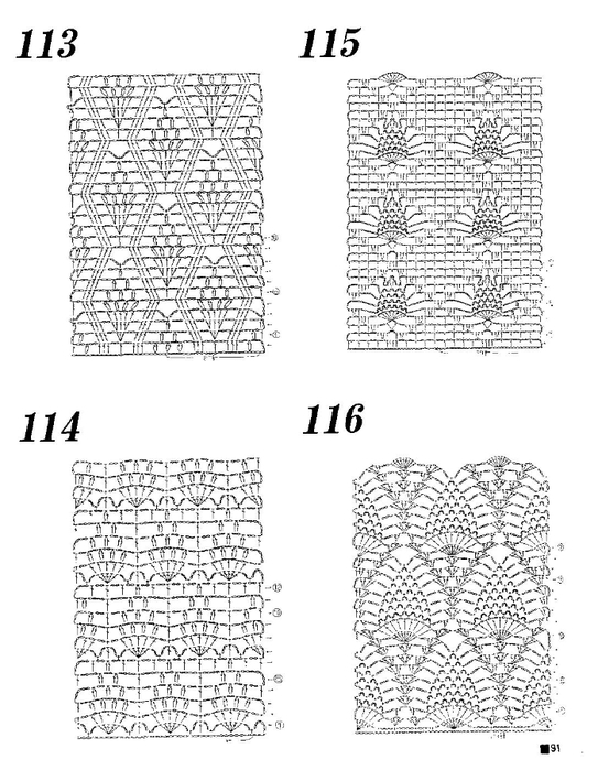 143 free diagrams for crochet pineapple stitches  u22c6 crochet