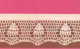 Pretty Crochet Border Pattern Free