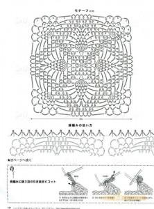 square pineapple crochet
