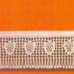 Pineapple Motif Tablecloth Border Crochet Pattern