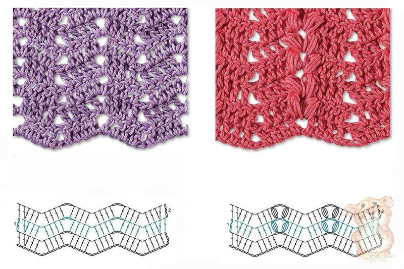 Zig zag crochet stitch diagram diy wiring diagrams best 8 herringbone zig zag crochet stitches for free crochet kingdom rh crochetkingdom com zig zag crochet pattern with stitch diagram zig zag crochet ccuart Images