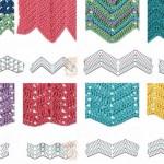 Best 8 Herringbone, Zig Zag Crochet Stitches for Free