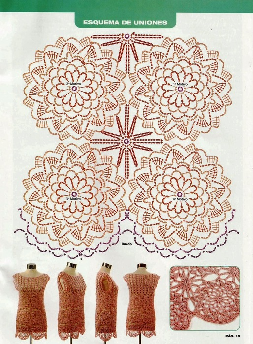 Flores a La Vista Crochet Patron ⋆ Crochet Kingdom