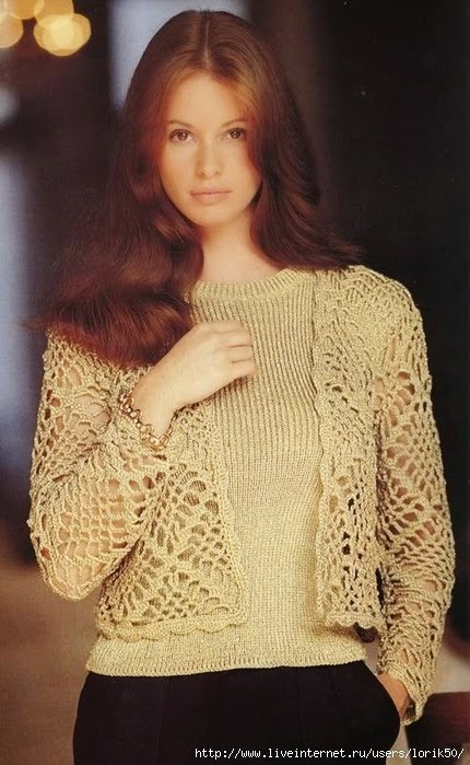 Short Jacket Openwork Crochet Pattern ⋆ Crochet Kingdom