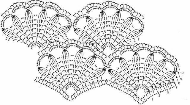crochet tunic in pink pattern diagram 2  u22c6 crochet kingdom
